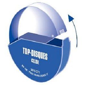 Boite plastique pour disque tachygraphe